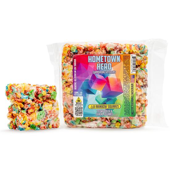 Hometown Hero Delta-8 Rainbow Square