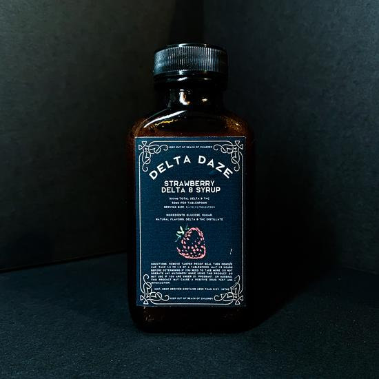 Delta Daze Strawberry Syrup