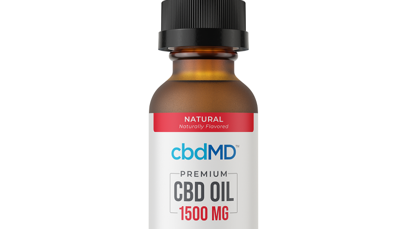 CBD Oil Tincture - Natural - 1500 mg - 30 ml