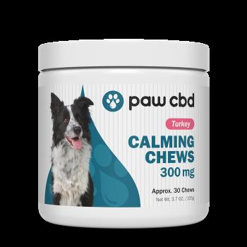 pawCBD 300mg CBD Calming Chews