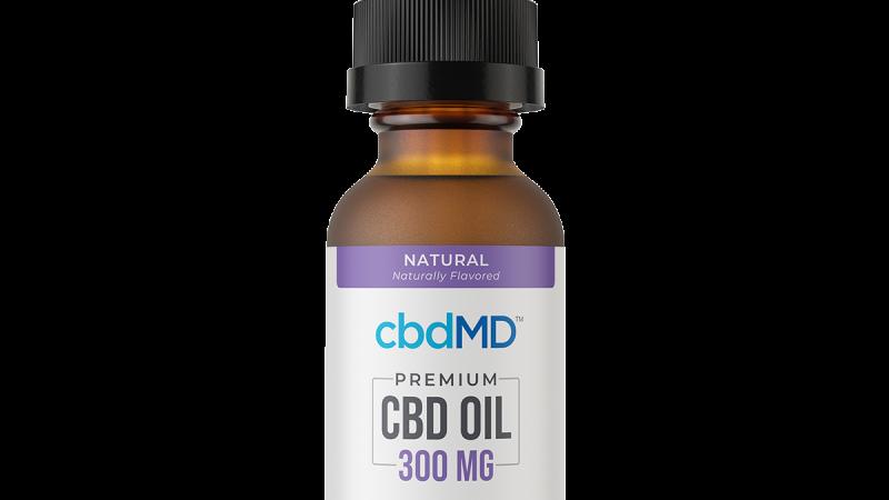 CBD Oil Tincture - Natural - 300 mg - 30 ml