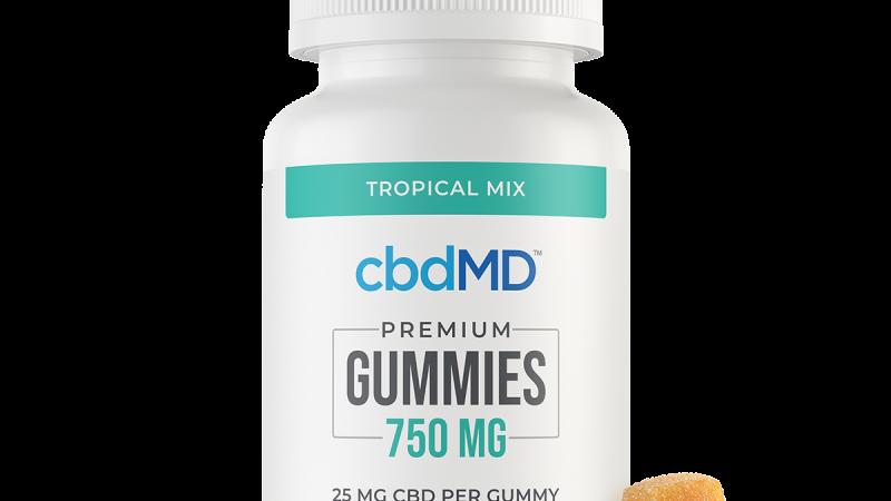 CBD Gummies - 750 mg - 30 Count