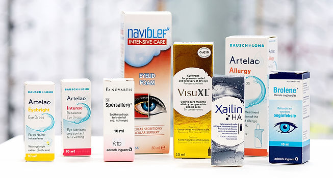 Eye Drops, Lubricants and Wipes