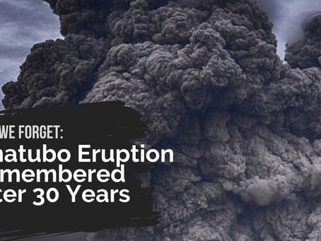 Lest We Forget: Pinatubo Eruption Remembered After 30 Years