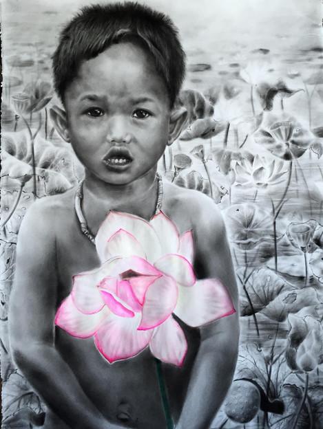 the lotus child from cambodia.JPG