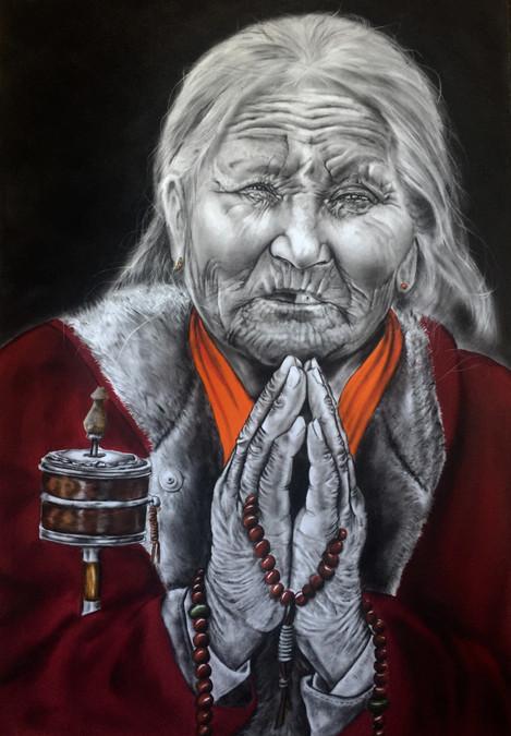 potala palace old woman praying.jpg