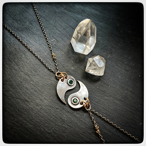 Yin to my Yang necklace set