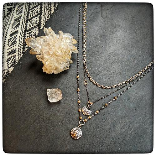 Layered Talisman Necklace