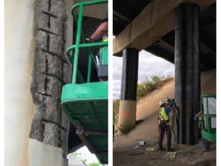 I385 -I85 Bridge Column Repairs for SCDOT