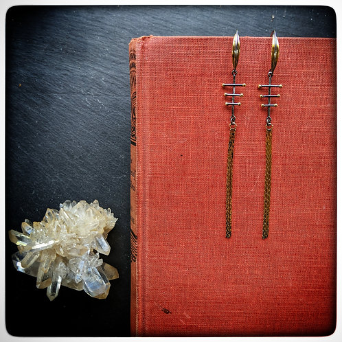 Crosshatch Earrings