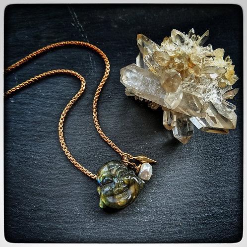 Lucky Buddha Necklace