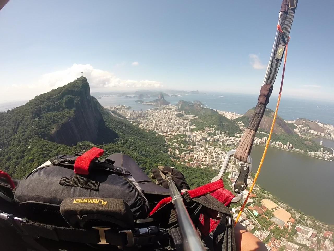 Corcovado Rio de janeiro parapente