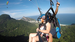 bapteme de parapente Rio de Janeiro