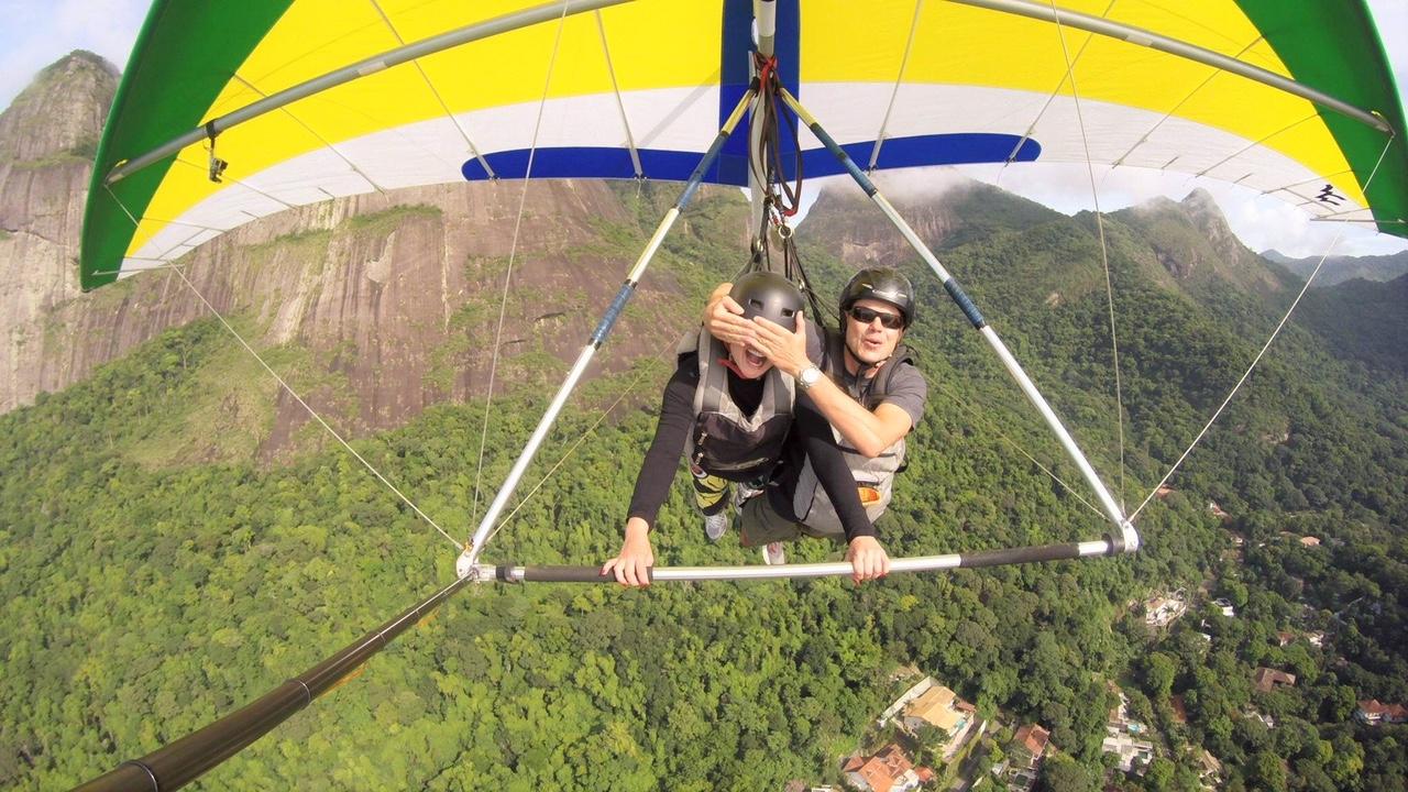 delta plane Rio de  Janeiro