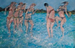 Splashing In The Shallow Sea