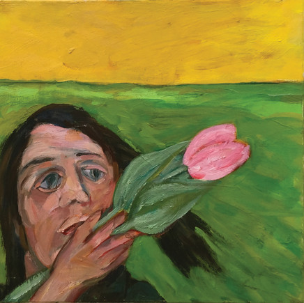 Girl with a Tulip