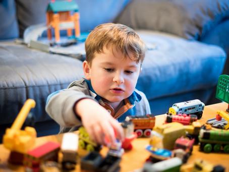Apprendre à ranger ses jouets
