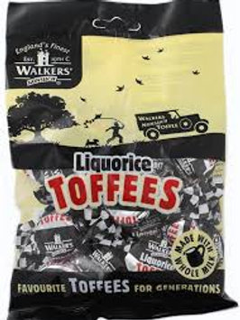 Walkers Toffee-Black Licorice