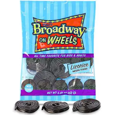 Licorice Wheels- Black