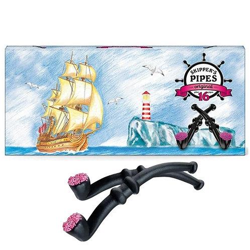 Licorice Pipes -Black 16pc Gift Box