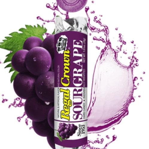Sour Grape Hard Candies