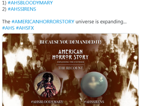 RYAN MURPHY DECIDES TO DO AN AMERICAN HORROR STORY RECOUNT!