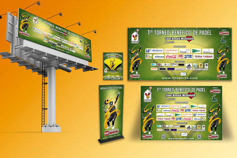 Campaña Torneo Padel