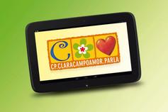 Logotipo C.P. Clara Campoamor