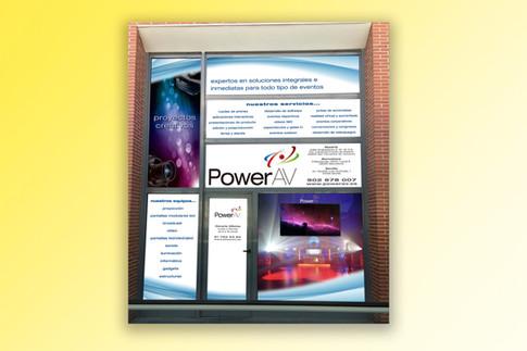 Decoración Oficina Ifema PowerAV