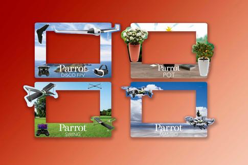 Láminas Parrot