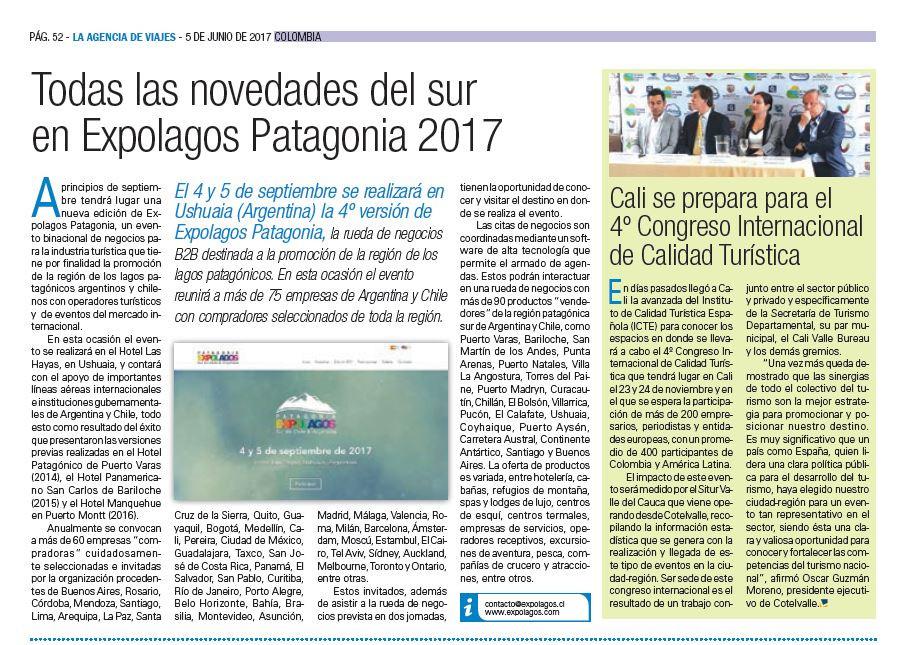 Todas las novedades del sur en Expolagos Patagonia 2017 en LADEVI Colombia