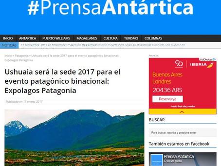 Ushuaia será la sede 2017 para el evento patagónico binacional: Expolagos Patagonia