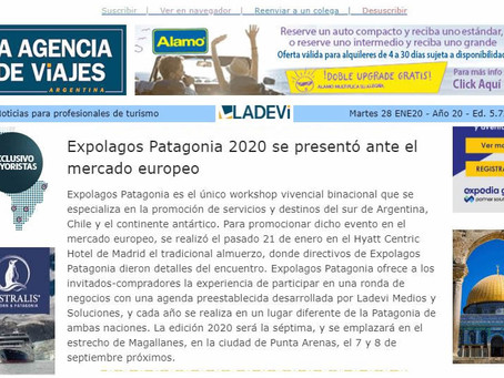 Expolagos Patagonia 2020 se presentó ante el mercado europeo