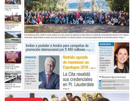 EXPOLAGOS 2018. Más de 2.000 reuniones B2B en Puerto Natales