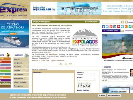 Feria Expolagos en Septiembre y en Patagonia