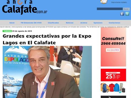 Grandes expectativas por la Expo Lagos en El Calafate
