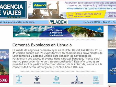 La rueda de negocios comenzó ayer en el Hotel Resort Las Hayas (LADEVI)