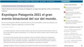 Expolagos Patagonia 2021 el gran evento binacional del sur del mundo.