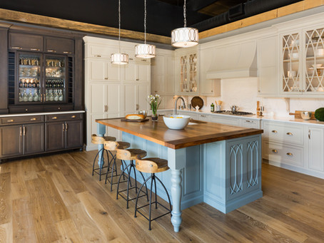 See it, love it, take it home...Minnesota Cabinets Kitchen Display at the Home + Garden Show