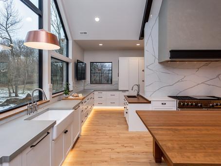 Modern Industrial Farmhouse – West Des Moines, Iowa Custom Kitchen by Minnesota Cabinets