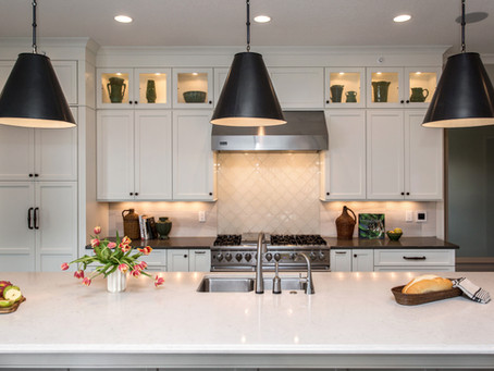 Transitional Kitchen With International Flair