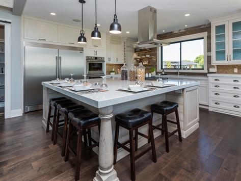 Coastal Meets Farmhouse – Home Show 2016 Custom Kitchen