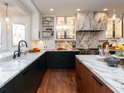 Remodeled Urbandale Kitchen with Fresh Modern Style
