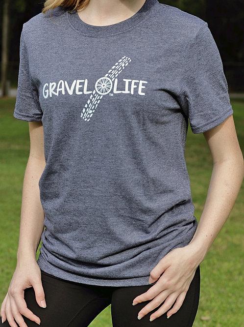 "Gravel Life ""Tire Tracks"" T-Shirt"