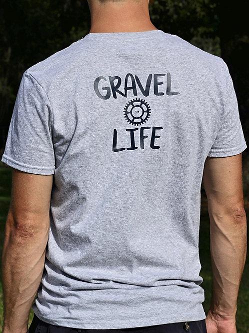 Men's Grey Gravel Life