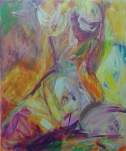 Akt 110 cm x 130 cm, akryl