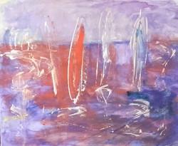 Jezioro 45 cm x 55,akryl