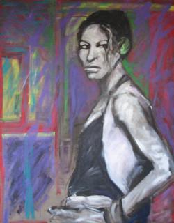 Sonia 100 cm x 125 cm,akryl