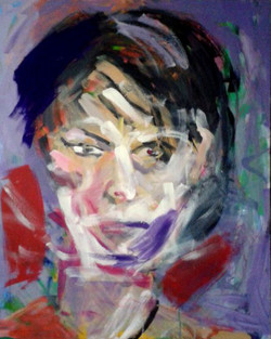 Mirella 90 cm x 110 cm, akryl