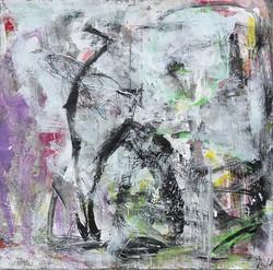 Abstrakcja szara 2